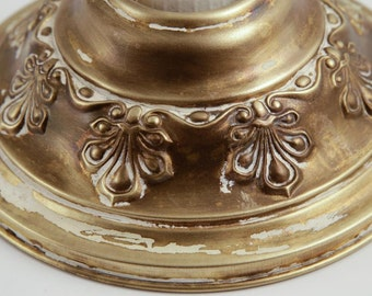 Ornate Victorian Ceiling/Wall Light, Shabby Distressed Finish #1