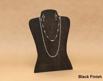 Body Shape Wooden Necklace & Earrings Display Board / Necklace Earring Holder / Jewelry Display / Mannequin Display Store Display / NB010