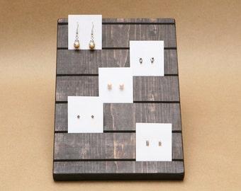 Earring Card Holder Display Stand / Earring Holder / Earring Card Display / Earring Stand / Jewelry Display / ER001