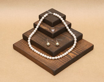 Wooden Jewelry Display Riser / R003