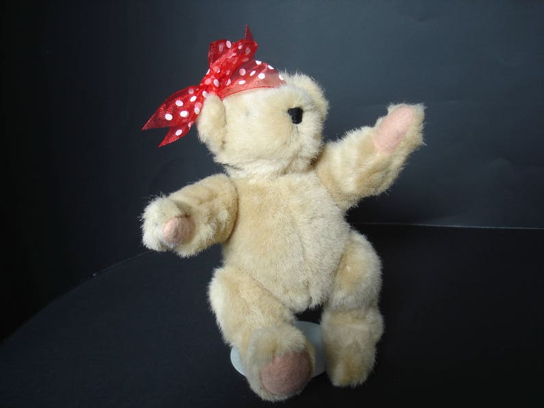 Collectible Bear Small Fully Jointed Teddy Bear Muffy VanderBear Best Dressed Bear North American Bear Company Muffy Collection