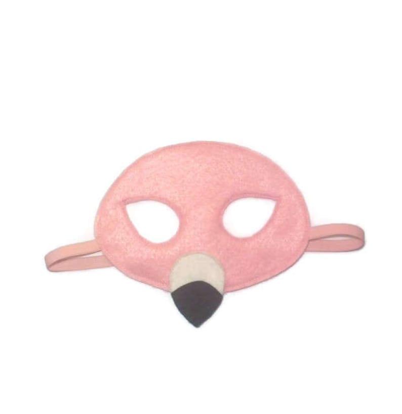 Maschera di fenicottero bambini maschera fenicottero  31618d0a4c69