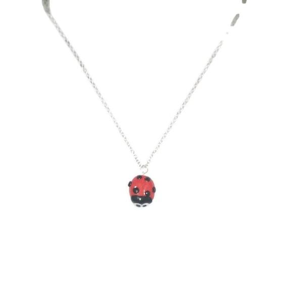 Ladybird necklace, Ladybug Necklace, Ladybug, Ladybug Jewellery