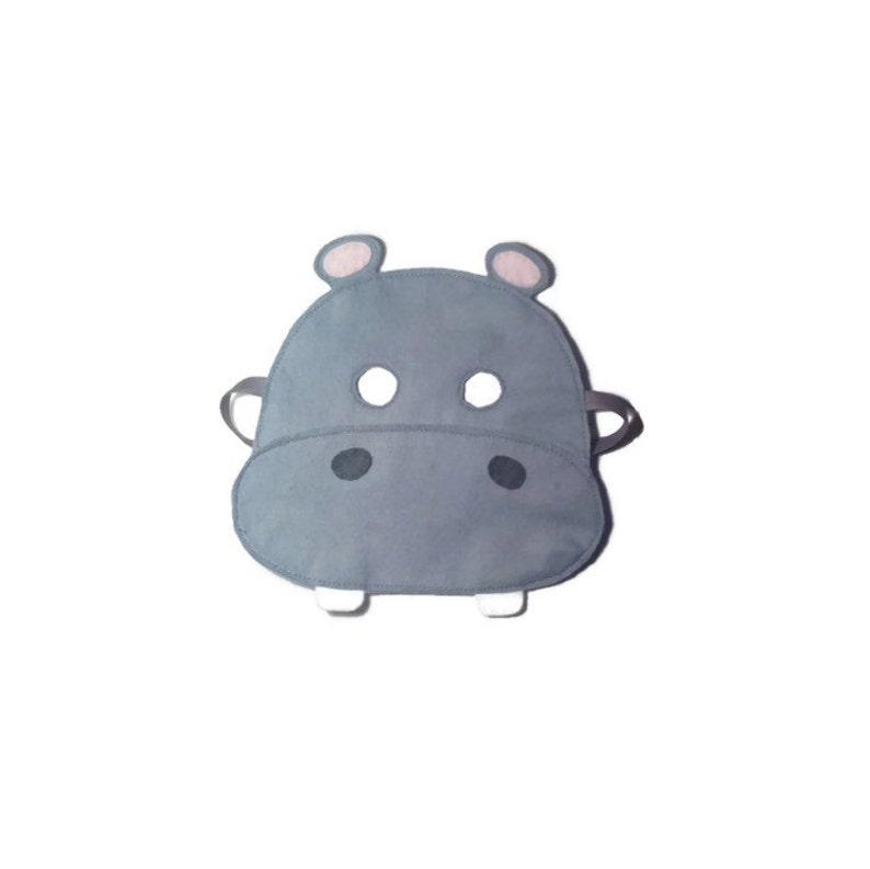 Masque Hippopotame Masque Hippo Kids Masque Pour Enfant Etsy