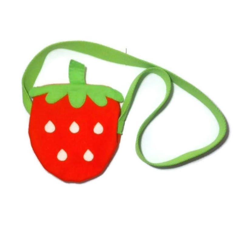De Bolso Para NiñosNiños Fruta FieltroLa Fresa BolsoFresaBolsa CoBedx