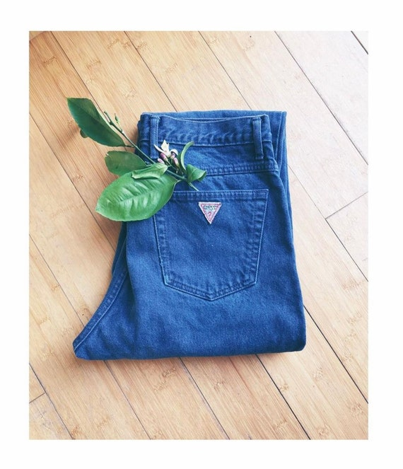 Vintage Guess Denim High-waisted Mom Jeans