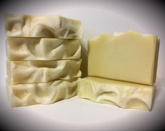 Baby Bunny Bastile, all natural soap, with carrot and buttermilk, handmade soap, artisan soap, cold processed soap
