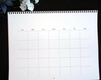 Perpetual Wall Calendar Etsy