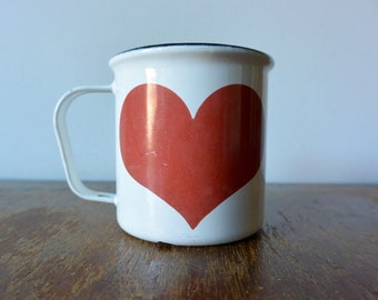 Very Rare Finel Heart Mug by Kaj Franck