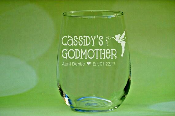 Whiskey Glass Elegant Will You Be My Godmother Gift Baptism Gift Rocks Glass Godparents Personalized Godmother Gift For The Godmother