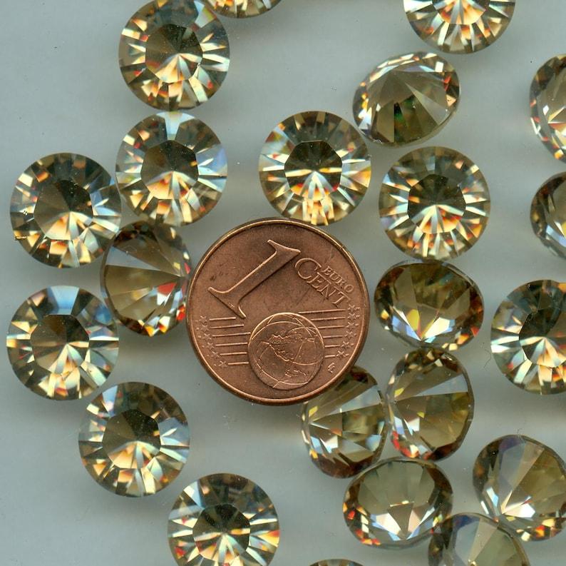 0e026954b 1028 SS45 GS 4 Swarovski rhinestones point back SS45 | Etsy