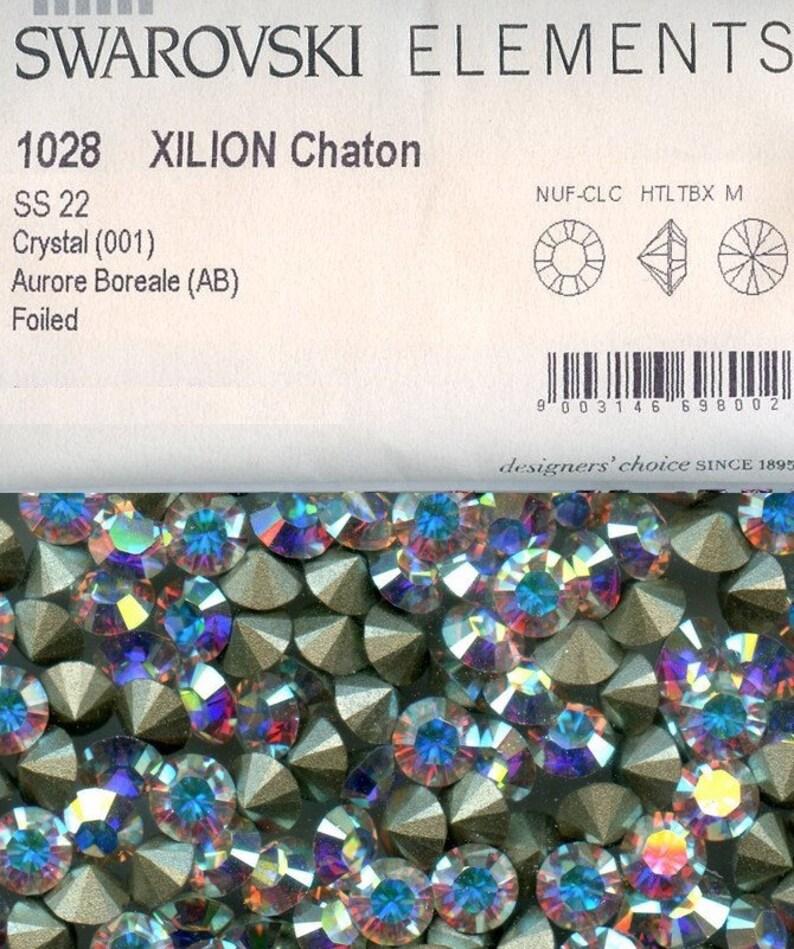 4c3d44043 1028 SS22 CI 20 Swarovski rhinestones point back chatons | Etsy