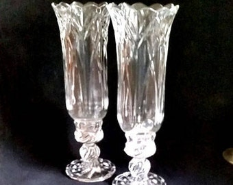 Royal Limited Lead Crystal Candle Holders