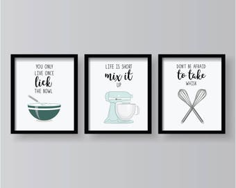 Funny Kitchen Quotes Etsy
