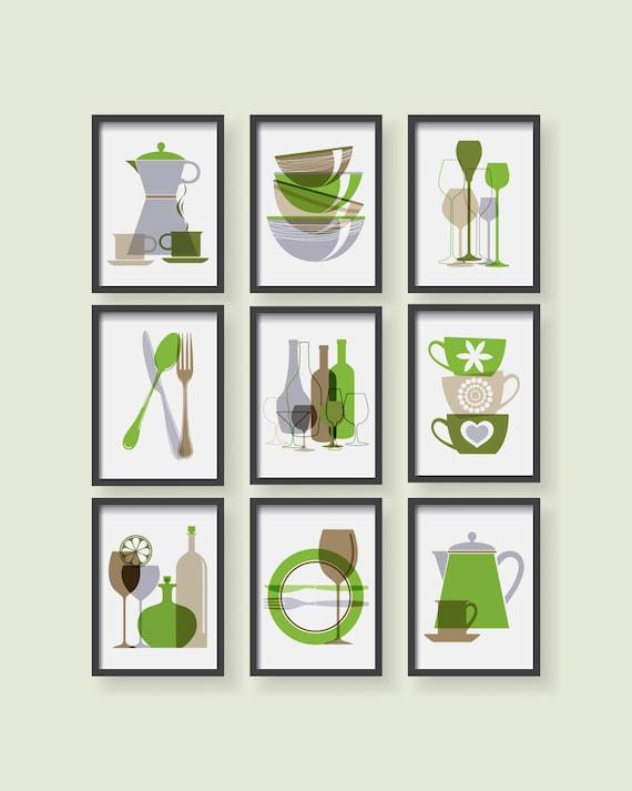 Dining Room Wall Art Modern Kitchen, Dining Room Wall Art