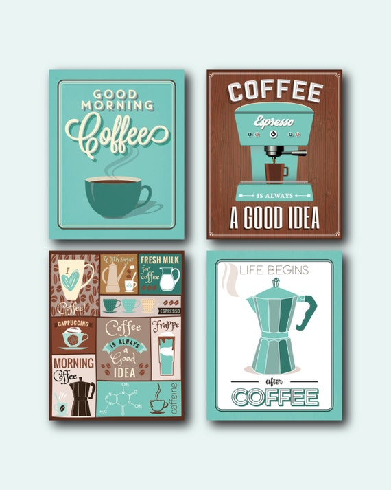 Coffee prints Set | Coffee wall art | Coffee decor | Coffee rs wall on teal kitchen rugs, teal kitchen paint colors, teal kitchen artwork, teal wall art, teal wall decorations, teal room decor, teal kitchen accents, teal kitchen linens, teal home decor, teal office decor, teal kitchen storage, teal wall stickers, teal kitchen plates, teal kitchen art, teal kitchen vases, teal kitchen clock, teal kitchen dinnerware, teal bathroom decor, teal kitchen textiles, teal and brown kitchen decor,