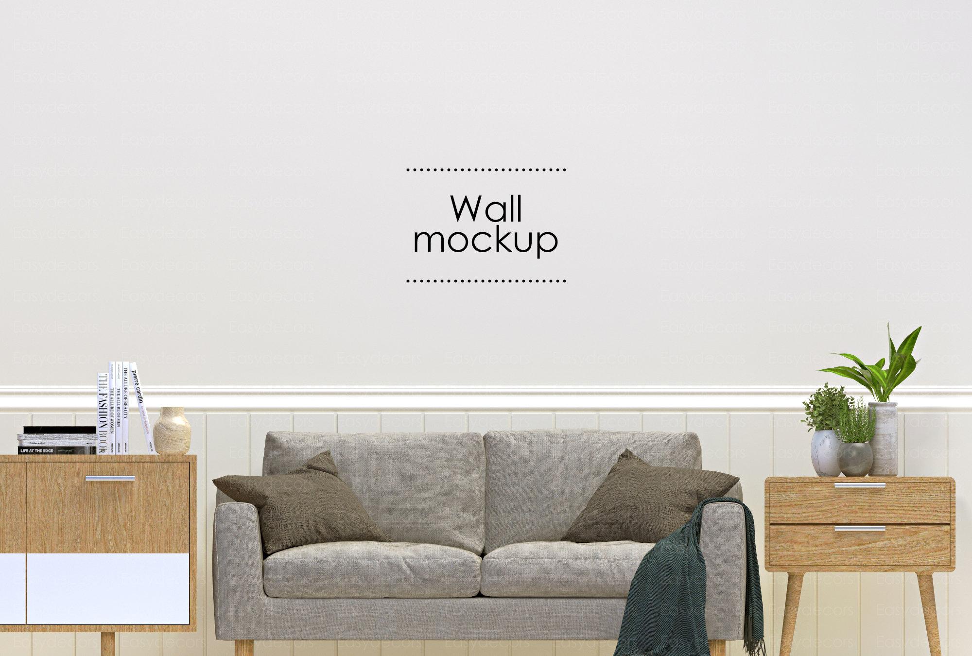 Digital Art Mockup Empty Wall Mockup Interior Mockup Download Wall Art Mockup JPG Interior Mockup Wall Mockup