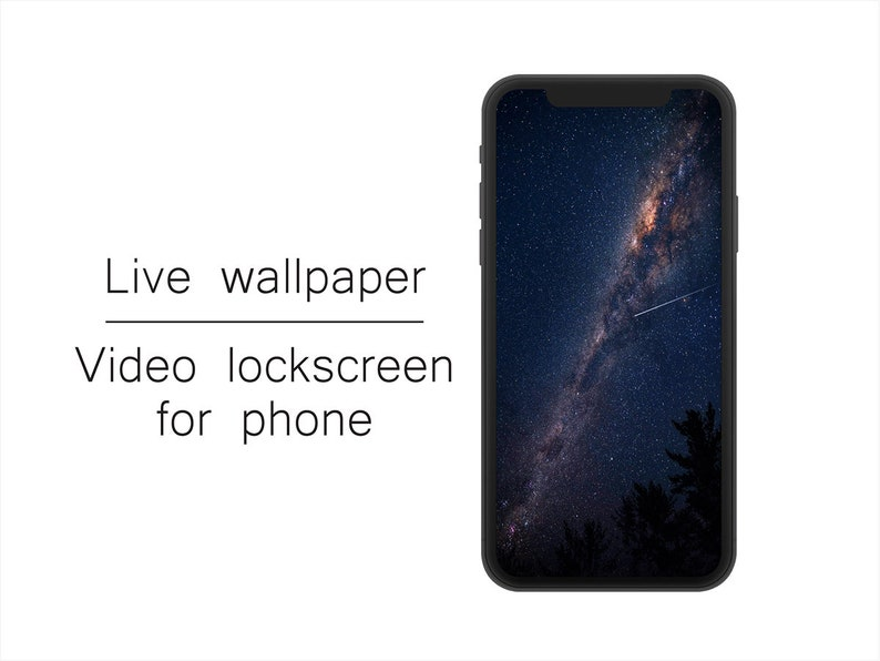 Live Wallpaper For Phone Cinemagraph Animated Wallpaper Etsy