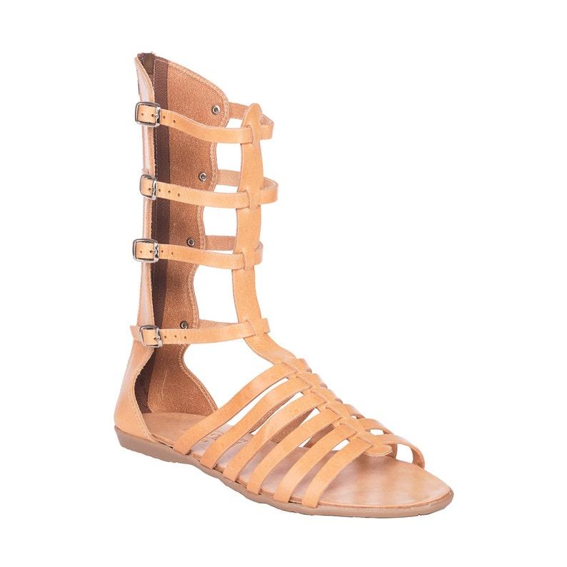 77da68510fd3 Tall Greek leather sandalsFREE SHIPPING in the USAGladiator