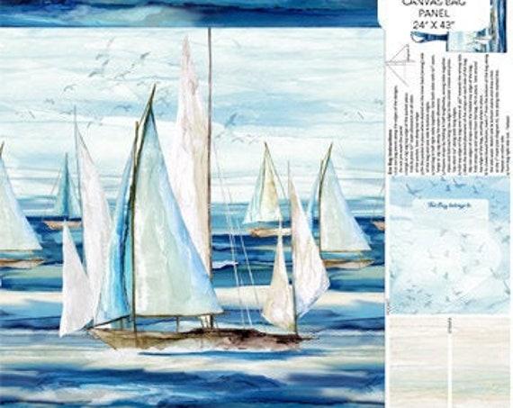 Northcott Fabrics Sail Away Bag Fabric Collection