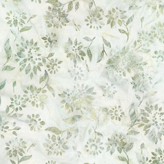 Robert Kaufman Batiks Summer Flowers Small Flower Fabric