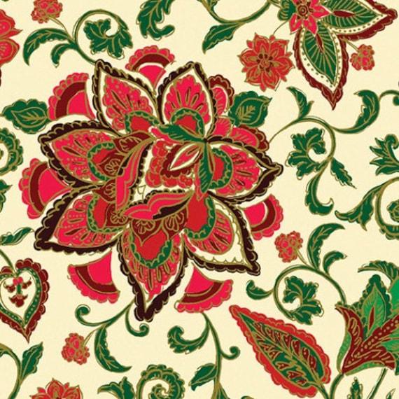 Kanvas Noel Metallic fabric