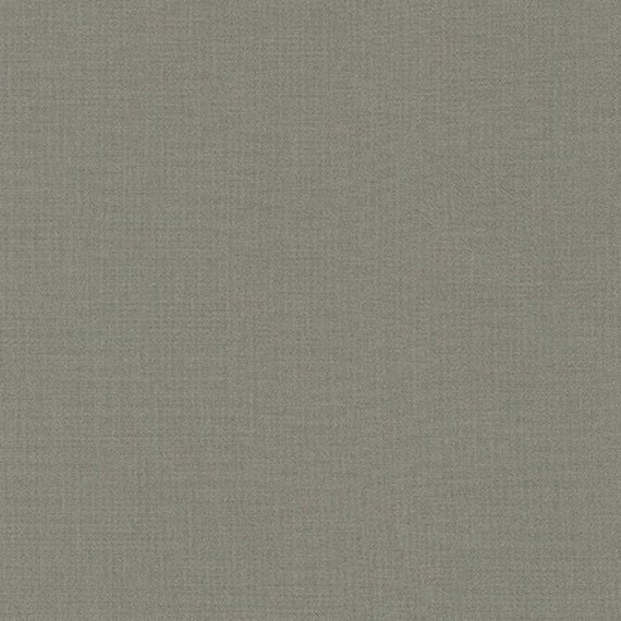 Kona Premium Cotton Fabric By Robert Kaufman Pewter