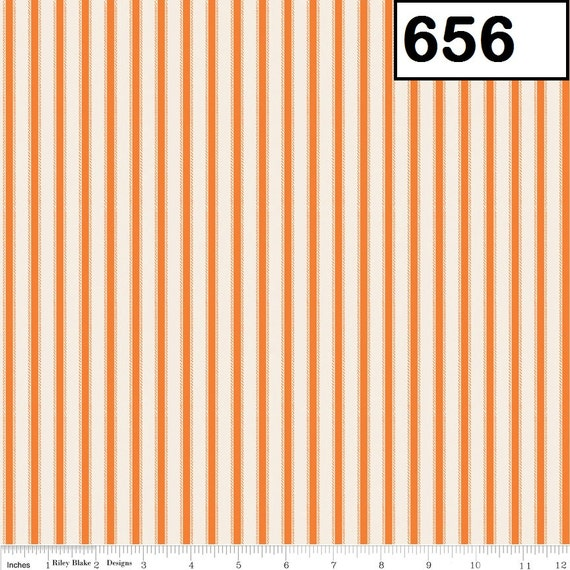 Riley Blake Fabrics Happy Haunting - Stripes