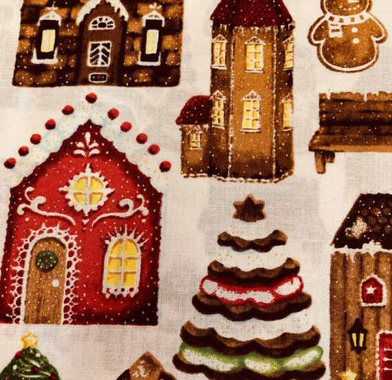 Hoffman Fabrics Candy Cane Lane collection.