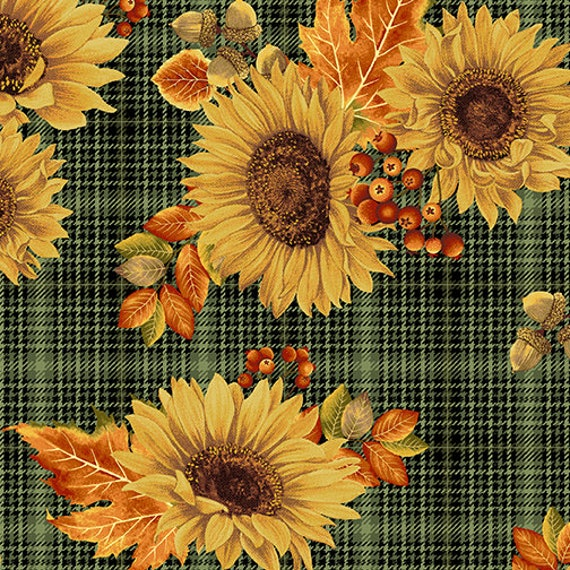 Benartex Autumn Elegance Fabric Collection