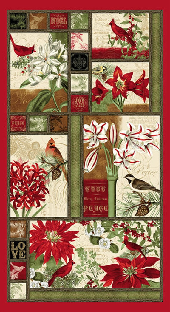 Blank Quilting Yuletide Botanica Fabric Collection
