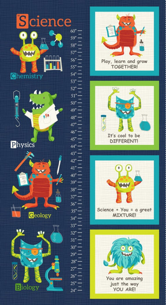 Studio E Fabrics Monster Lab Collection