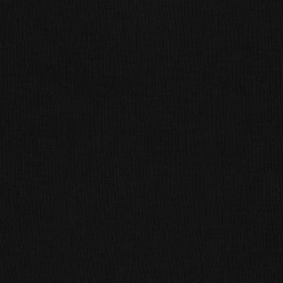 "Kona Premium 108"" Backing Black Fabric By Robert Kaufman"