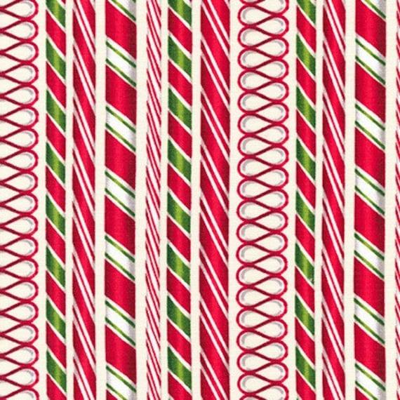 Holly Jolly Christmas Candy 6 Fabric by Robert Kaufman