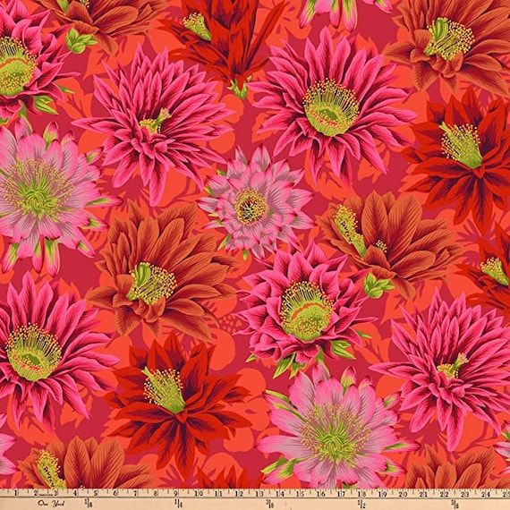 Kaffe Fassett for Free Spirit Fabrics Pink Fabric Collection