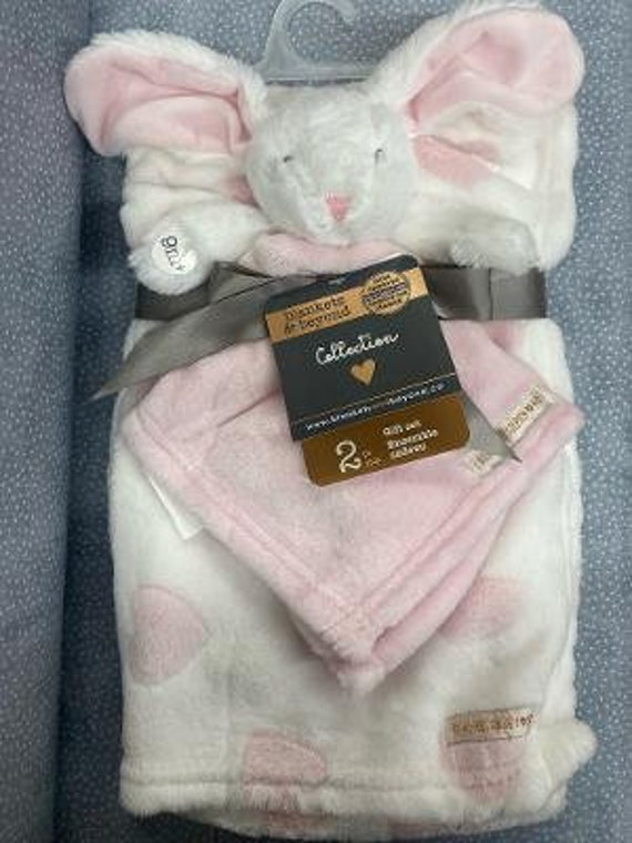 Plush Lovie and Blanket Set