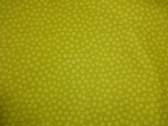 Lime Green w/Light Green 'Donuts' Fabric 369