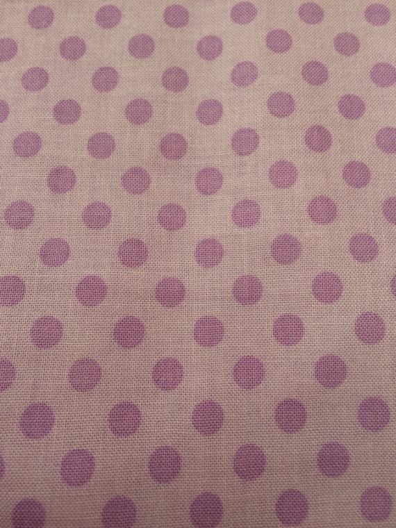 Riley Blake Lavender w/Purple Dot Fabric  368