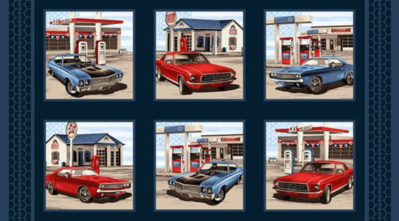 Studio E Fabrics American Muscle Fabric Collection