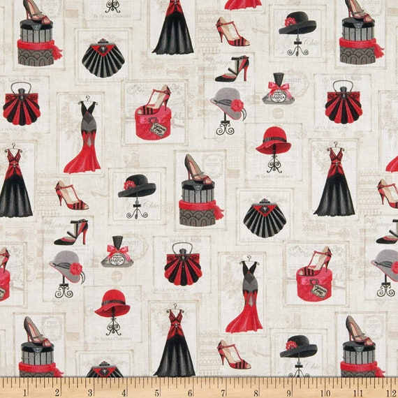 LeQuilt STOF Vintage Attire Fabric Collection