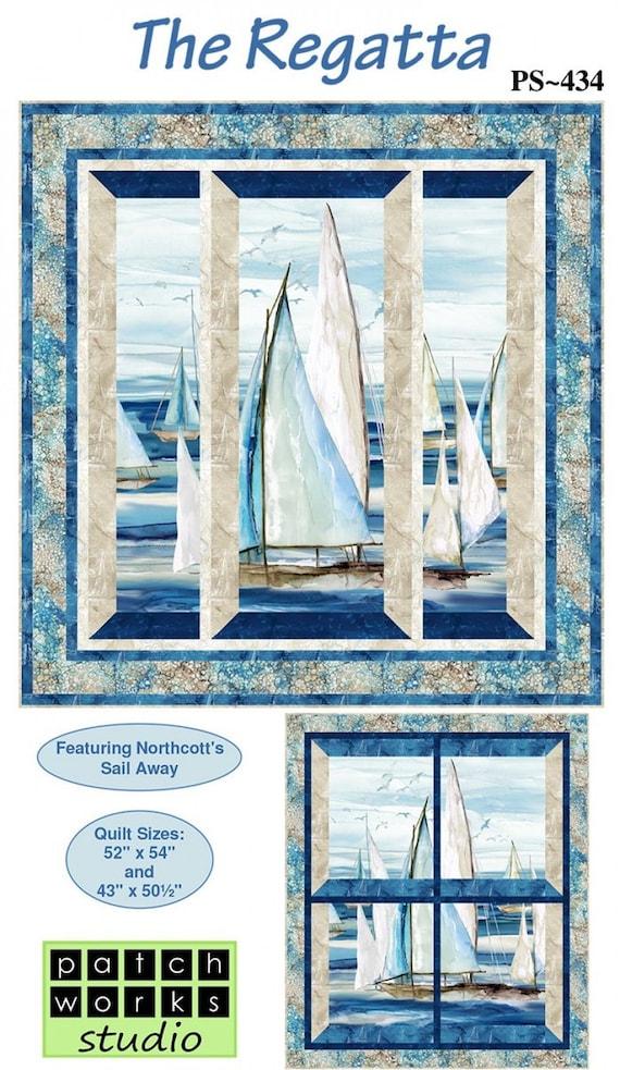 Northcott Fabrics The Regatta Quilt Kit