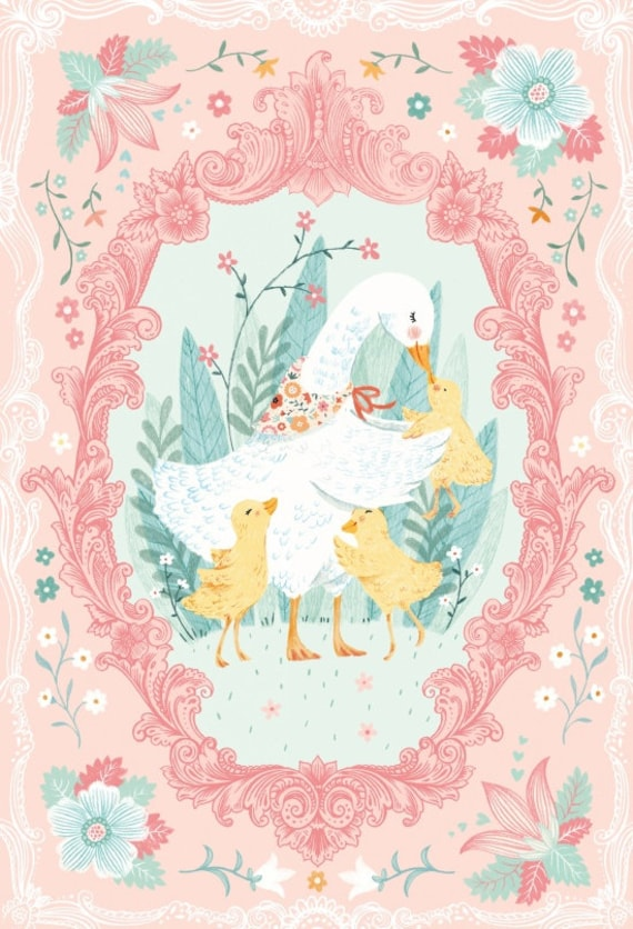Ducky Tales Fabric By Studio E