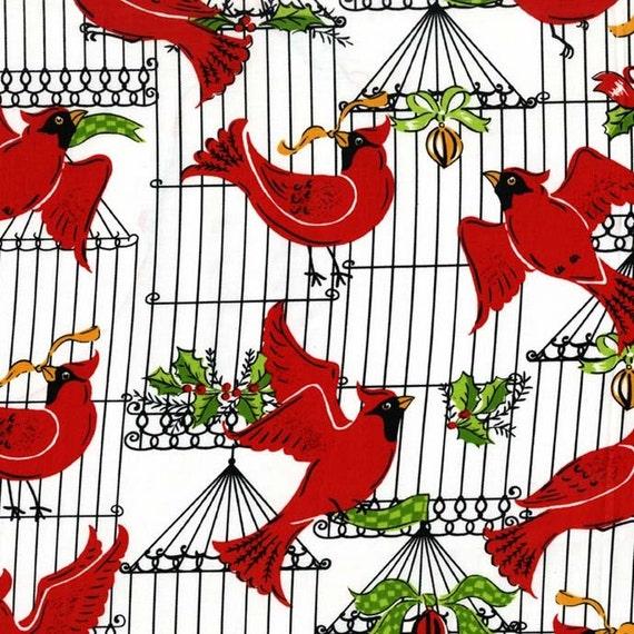 Michael Miller Fabrics - Holiday Birds 734