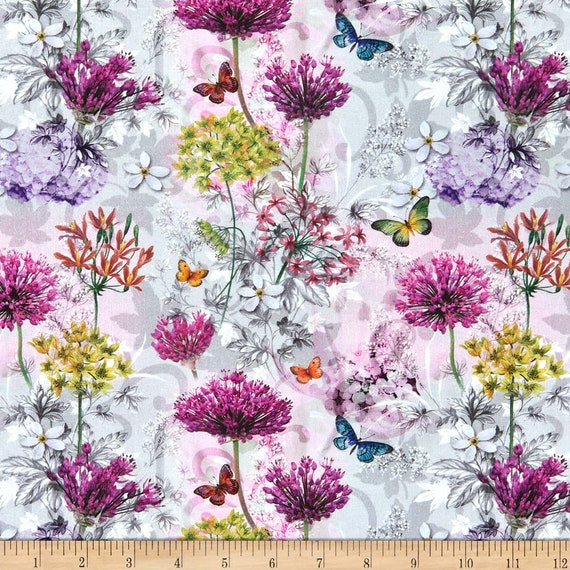 LeQuilt STOF France Butterfly Fabric Collection
