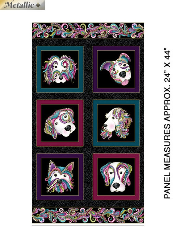 Benartex Dog On It Fabric Collection