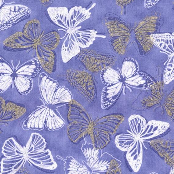 RJR's Shiny Objects Periwinkle Butterflies