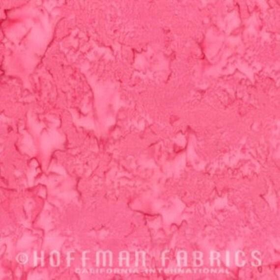Hoffman Fabric Painted Petals Batiks