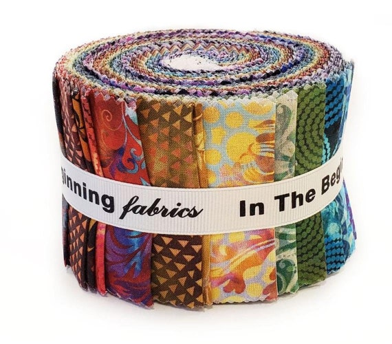 In the Beginning Fabrics Floragraphix V Jelly Roll