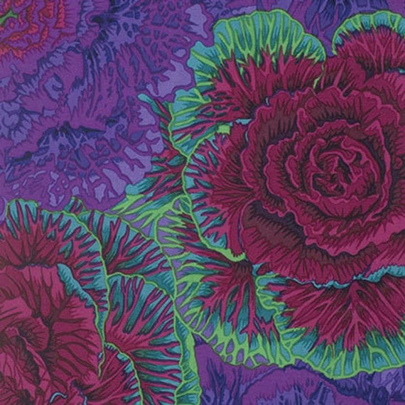 Kaffe Fassett for Free Spirit Fabrics Purple Fabric Collection