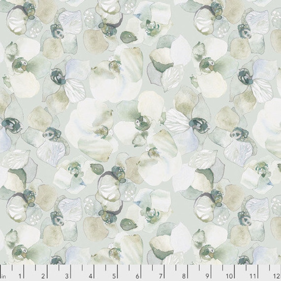 Free Spirit Fabrics Shell Rummel Powder Blue Collection